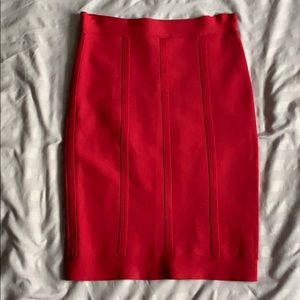 BCBGMaxAzria Bandage Skirt Pink